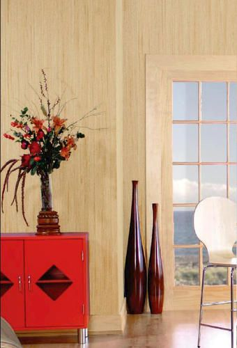 American Pacific 4' x 8' Bamboo Panel $16: American Pacific, Designer Plywood, Paint Paneling, Plywood Panel, Basement Gathering, Gathering Space