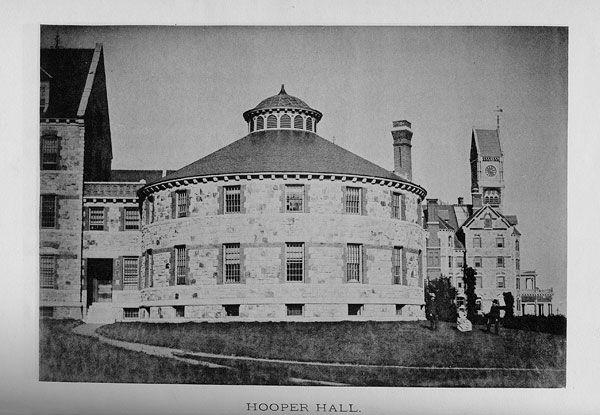 Il Worcester State Insane Hospital, manicomio del Massachussets.