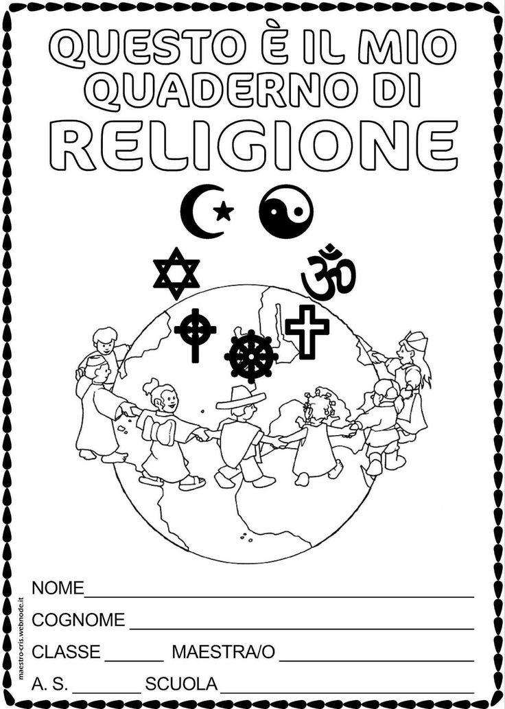 quaderno religione