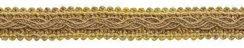 "17.50   7 Value Yard Pack - Two Tone Gold Baroque Collection Gimp Braid 7/8"" Style# 0078BG Color: GOLD MEDLEY - 8633 DecoPro,http://www.amazon.com/dp/B00HI2V8M2/ref=cm_sw_r_pi_dp_n4Djtb1GPBTWYFQ8"