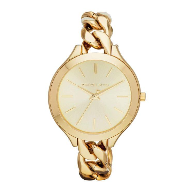 Michael Kors Women\u0027s Runway MK3222 Goldtone Stainless Steel Quartz Watch