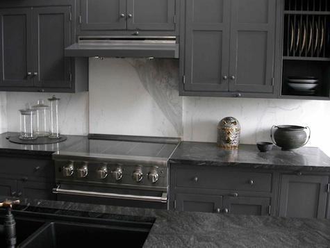 Designer Visit Bibi Monnahan In Pennsylvania Black Granite Kitchengray