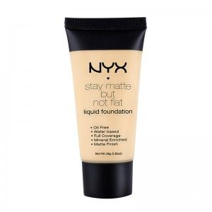 NYX Stay Matte But Not Flat Liquid Foundation Nude