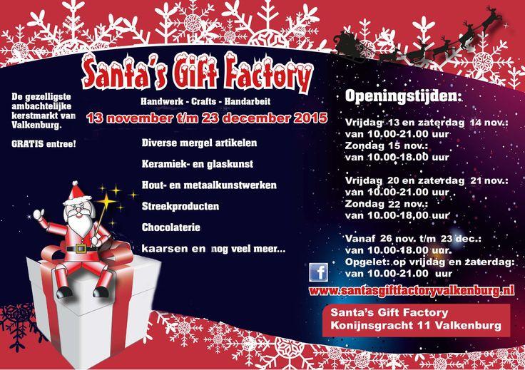 De gezelligste ambachtelijke overdekte kerstmarkt van Valkenburg aan de Geul. Gratis entree - meer dan 12 standhouders - 1001 ambachtelijke producten