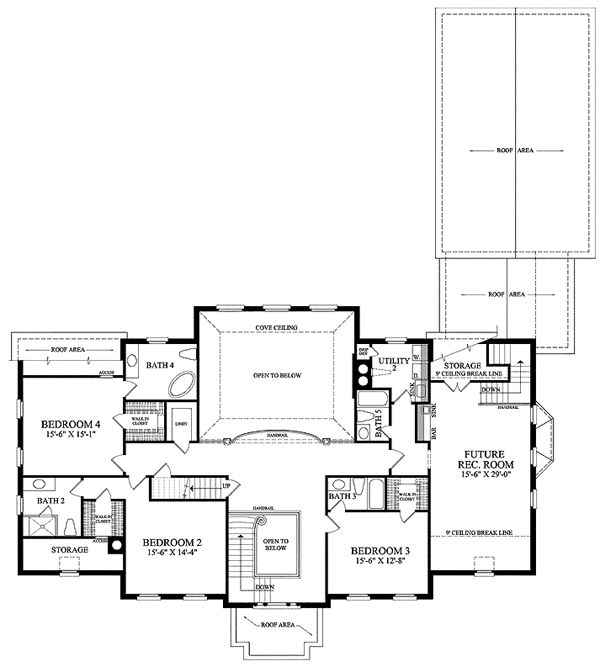 68 best home floor plans images on pinterest home plans for Southern colonial floor plans