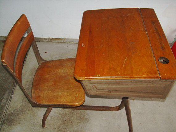 130 best Vintage school desk images on Pinterest
