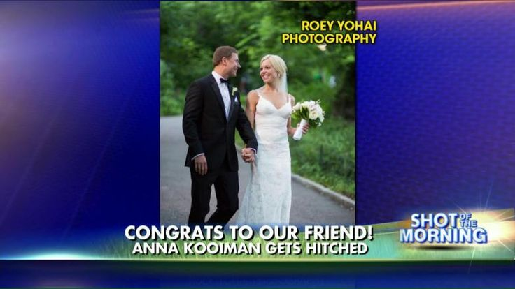 'Fox and Friends Weekend' Host Anna Kooiman Gets Hitched