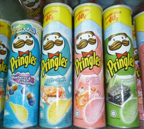 Pringles have so many cool sounding flavors where do I get them?