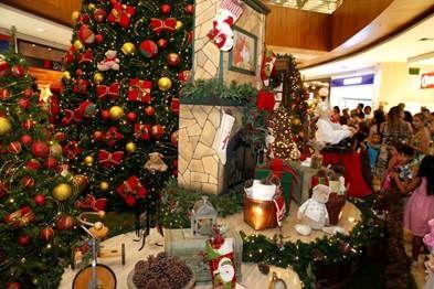Decoração inspirada nas tradições de Natal encanta os clientes do Partage Shopping São Gonçalo | Jornalwebdigital