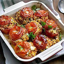 Gevulde tomaten met feta