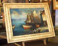 Enmarcaciones, enmarcadores, óleos y láminas, enmarcados con y sin paspartú.