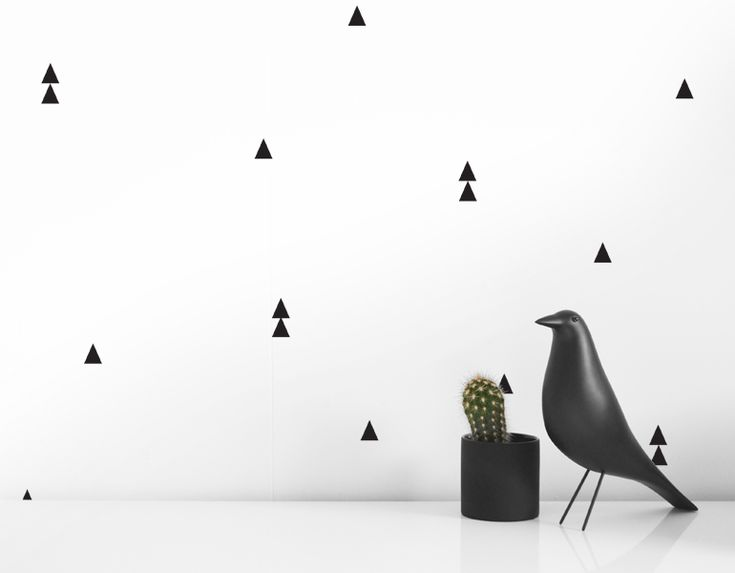OLLI + LIME | MODERN NURSERY DECOR | TRIANGLE WALL DECALS