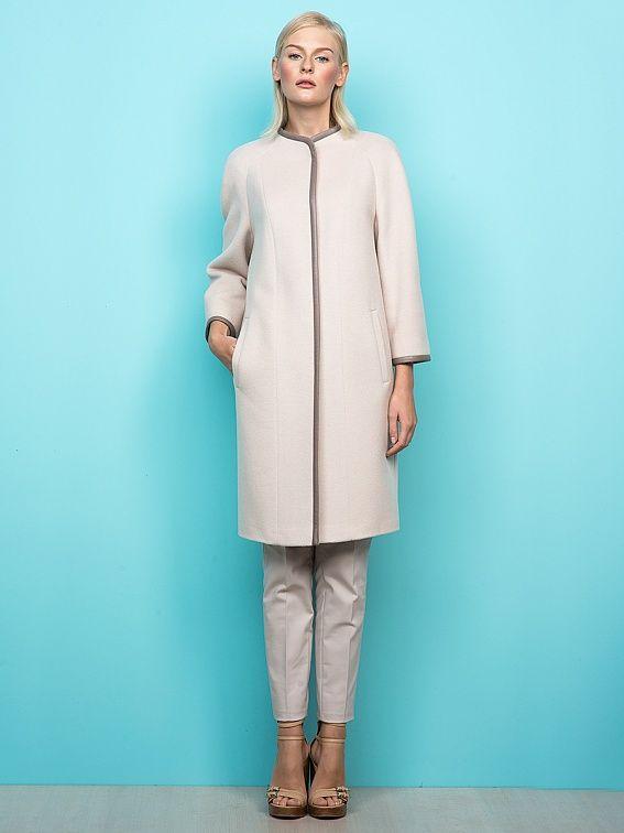 Шерстяные женские пальто в интернет магазине Pompa