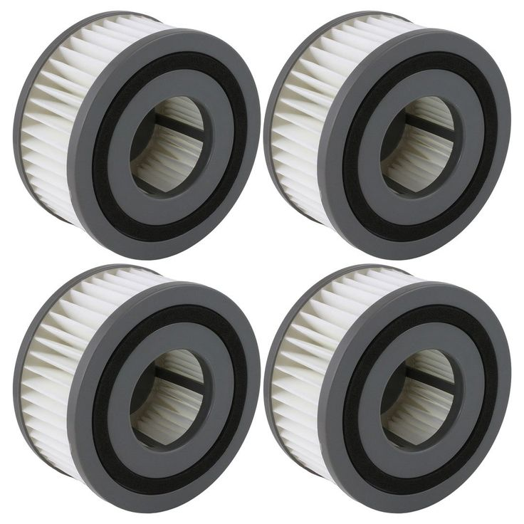 4 Pack Felji F15 Washable HEPA Filters for Dirt Devil Vacuum Cleaners Part # 1-SS0150-000 3-SS0150-001