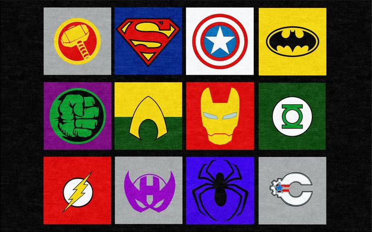 Marvel and Justice League Superheros Rug