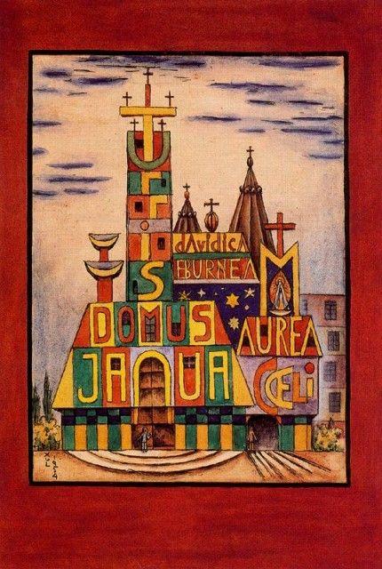 Xul Solar - Iglesia de María