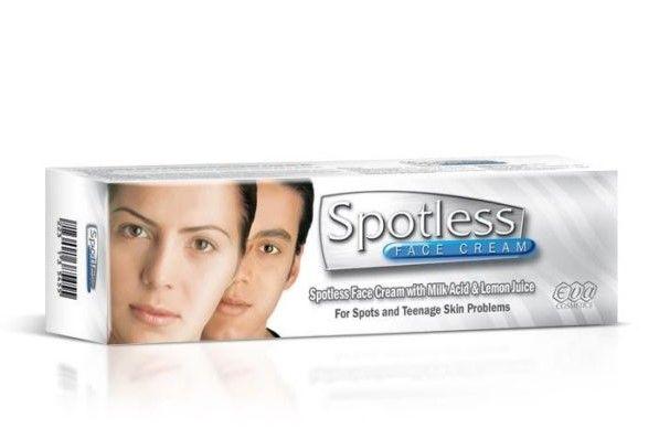كريم سبوتلس إيفا Spotless Eva Face Cream Skin Problems Cream