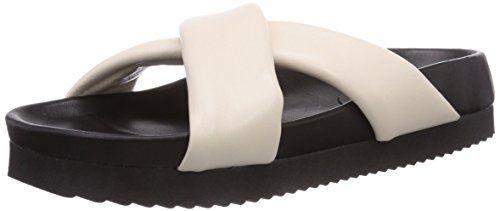 Strenesse Slipper, Damen Pantoletten, Weiß (off white  110), 38.5 EU - http://on-line-kaufen.de/strenesse/38-5-eu-strenesse-slipper-damen-pantoletten