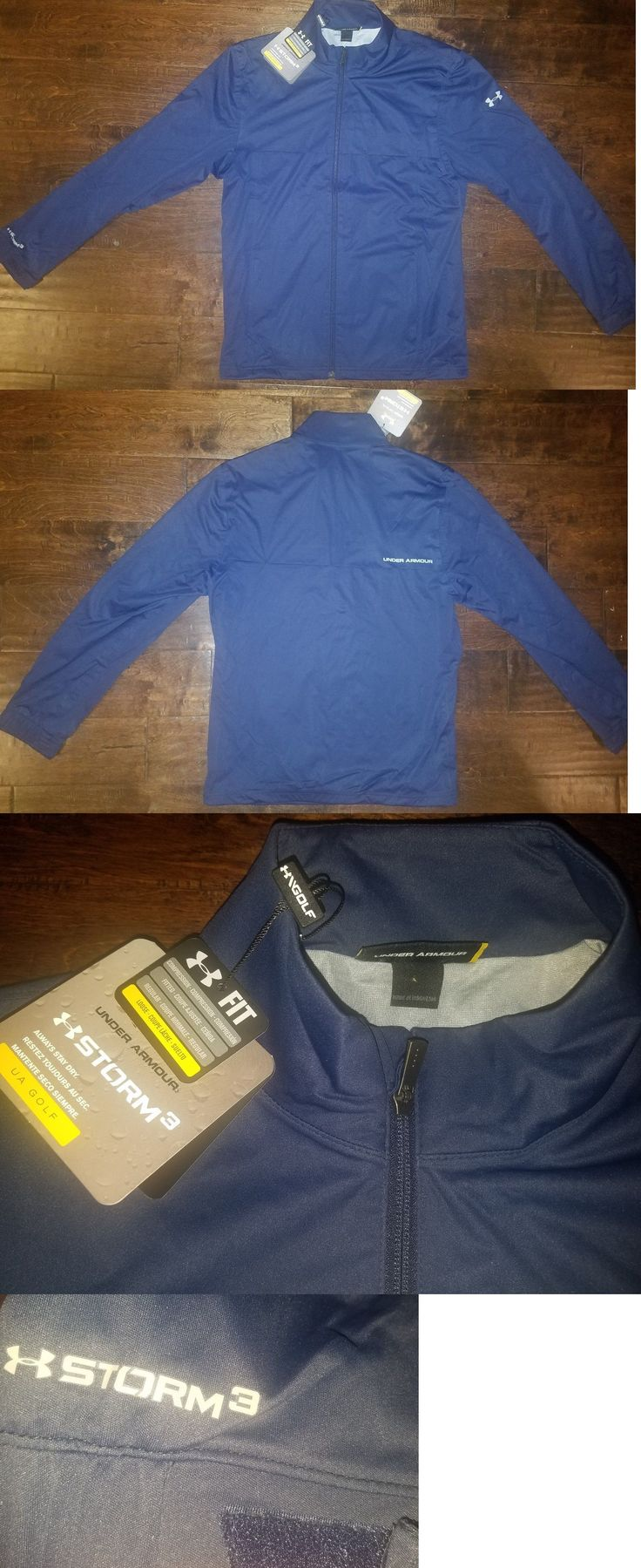 Coats and Jackets 181134: Under Armour Men S Storm 3 Golf Waterproof Wind Proof Rain Jacket Small New -> BUY IT NOW ONLY: $57 on eBay!