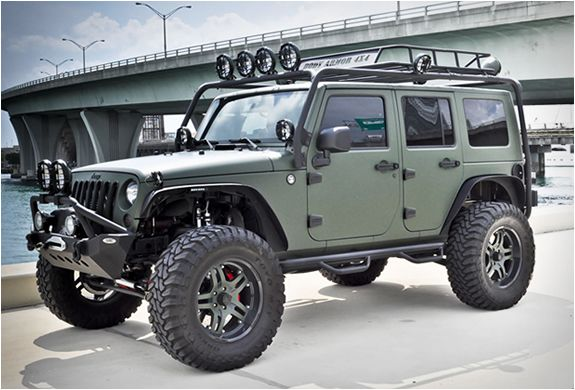 Im in love with this jeep i wish mine could look just like it!!!! Jeep Wrangler, CEC Wheels, Matte Military Green wrap