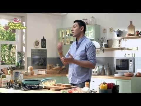 Magic recipes by Ranveer Brar: Tandoori Pizza Sandwich