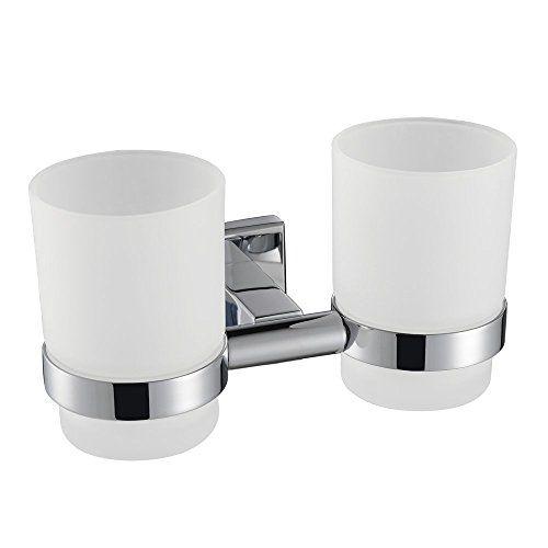 Konhard FLC Wall Mount Bathroom Toothholder Cup Holders - Bathroom cup holders wall mount for bathroom decor ideas