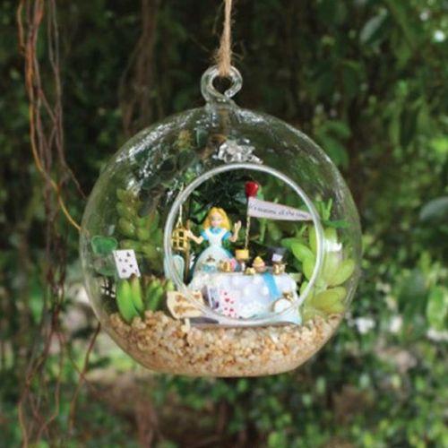 Diy Alice In Wonderland Miniature Garden Ornament Alice In Wonderland Pinterest Gardens