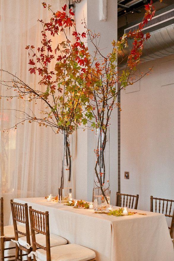 fall wedding centerpiece ideas  Google Search