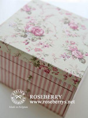 ROSEBERRY DIARY : テーブル小物の箱
