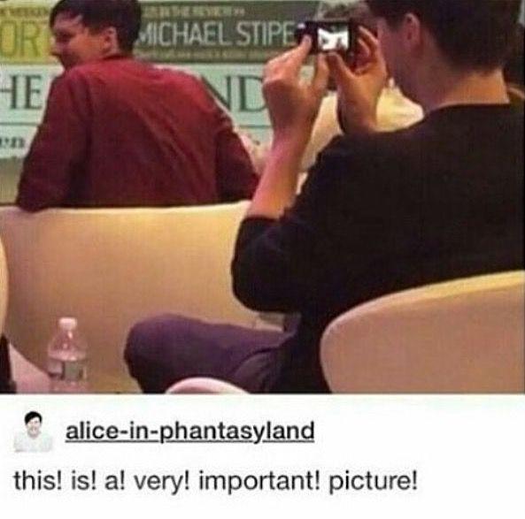 Dan stop being a stalker
