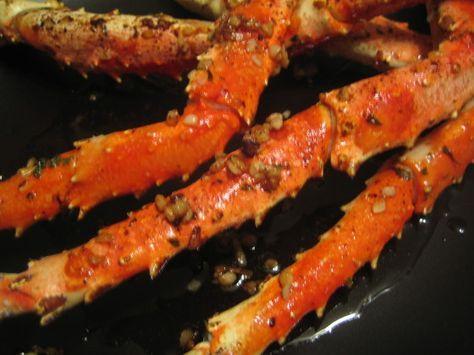 Crabs - Garlic Butter Baked Crab Legs Recipe - Food.com