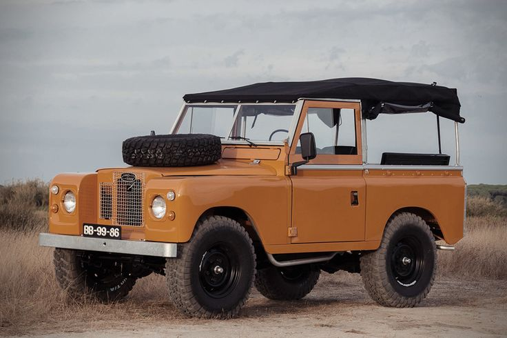 1971 Land Rover Series 2A By Cool and Vintage3