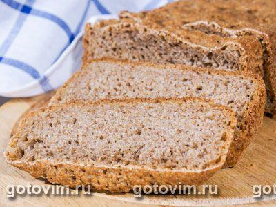 Хлеб с отрубями. Фото-рецепт