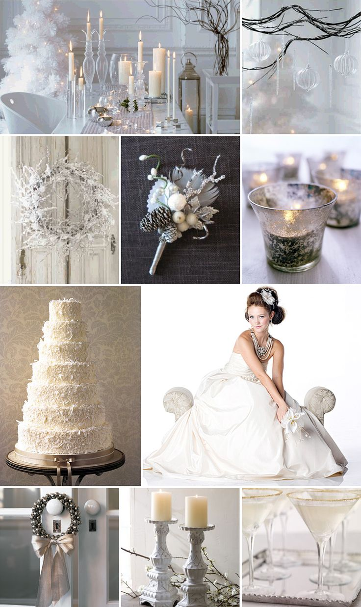 winter wonderland wedding south africa%0A A white winter Christmas wedding is a lovely way to really delve into the  holidays