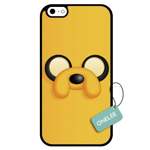 Onelee - Adventure Time BMO Finn Face And Jake Face iPhone 6 Case & Cover - iPhone 6 Case - Black 8. Technology: Mirror Technic. Technology: Sekio Ink Printing Patern. Material: Japan Teijin Panlite PC. Material: US 3M Stickers. Brand: Onelee.
