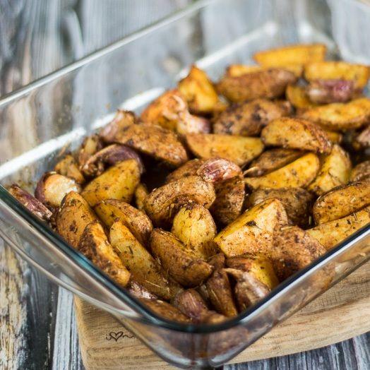 paprykowe ziemniaki z piekarnika