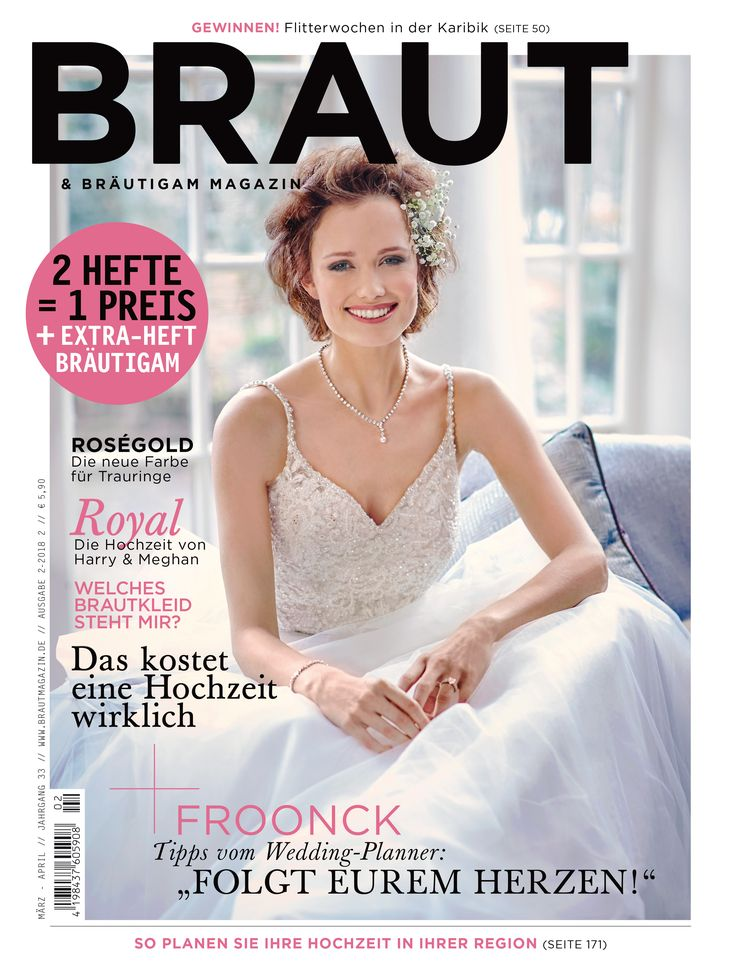 37 best Braut & Bräutigam Magazin images on Pinterest