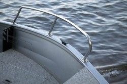 New 2008 Crestliner Boats Canadian 16 SC Multi-Species Fishing Boat Bow Rails