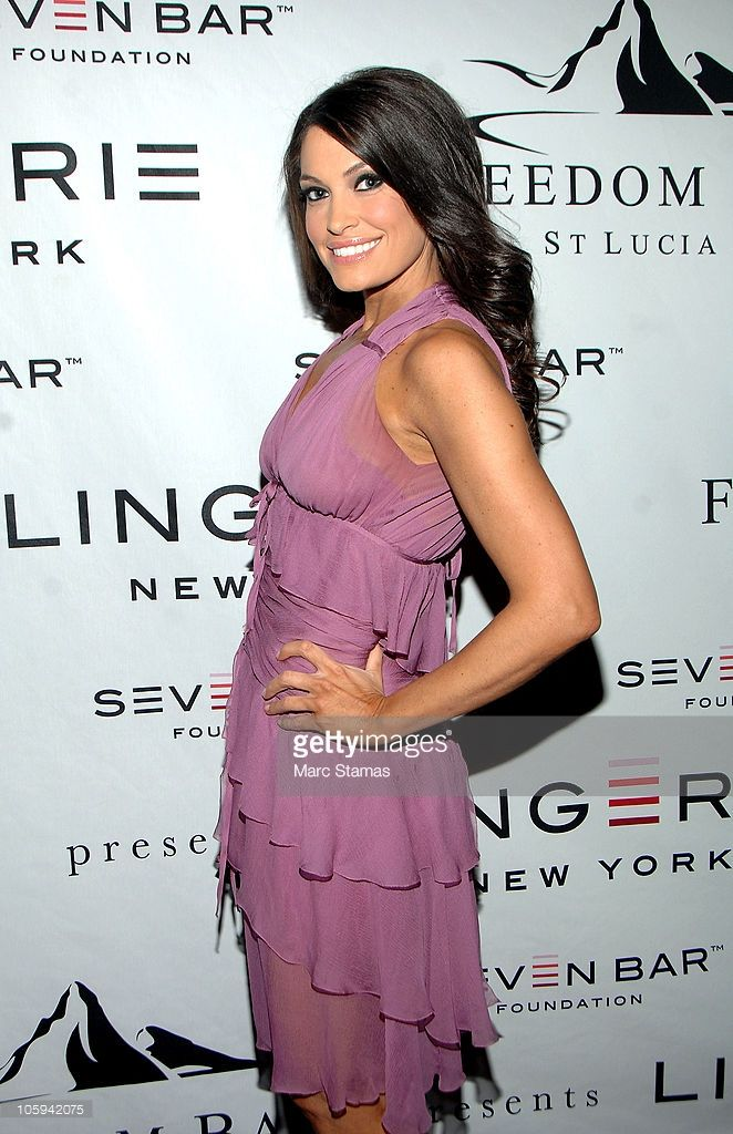 News' Kimberly Guilfoyle attends Lingerie New York 2010 at Cipriani 42nd Street on October 21, 2010 in New York City.