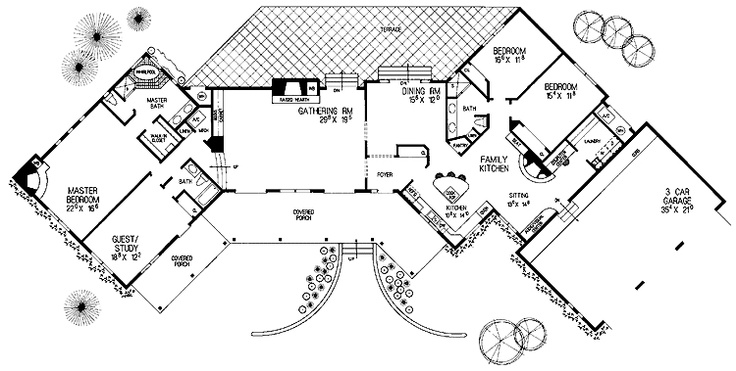 adobe house floor plan for the home pinterest adobe house floor plans 4 bedroom trend home design and