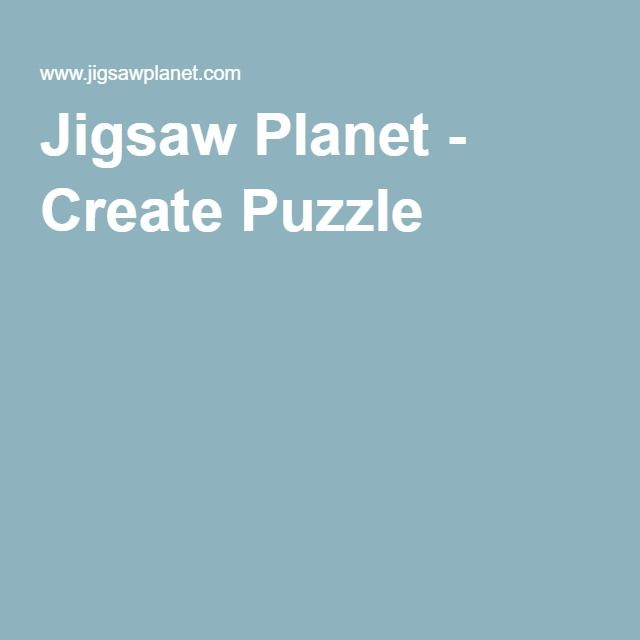 Jigsaw Planet - Create Puzzle
