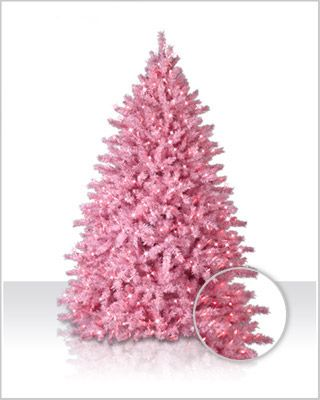 """Whoever said """"beauty is pain"""" has never met our Powder Pink Christmas Tree. Its durable construction ensures this tree will be your holiday sweetheart for years to come."""