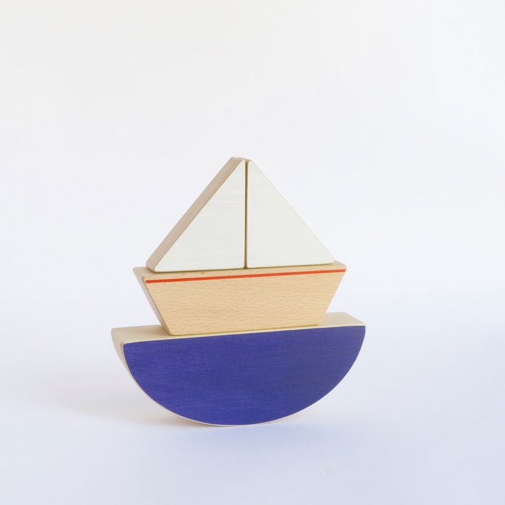 Wooden Balancing Toy Boat - Ecofriendly Kids Toy  - Blue Sea and Little Boat Puzzle Toy. by TheWanderingWorkshop on Etsy https://www.etsy.com/listing/125265662/wooden-balancing-toy-boat-ecofriendly