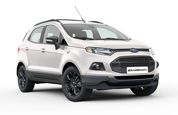 Recap - Ford EcoSport Black Edition launched at INR 8.58 lakhs