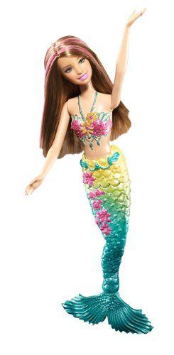 Barbie Green Color Change Mermaid Doll Barbie http://smile.amazon.com/dp/B004CFBYFO/ref=cm_sw_r_pi_dp_yO03ub1DV8F5F