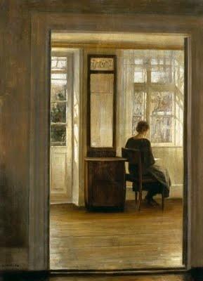 Liseuses by CARL VILHELM HOLSOE (1863-1935) - BONHEUR DE LIRE