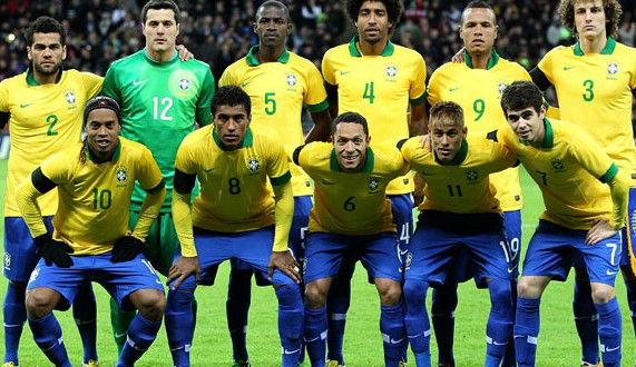Brazil Football Team Squad For World Cup 2014 Players Roster | Footballwood