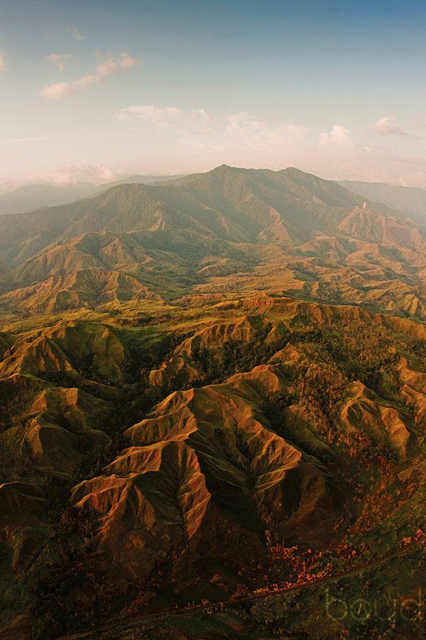 The Owen Stanley Ranges, Papua New Guinea