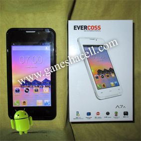 "Evercoss A7A, Layar 4"", Dual Core Processor"