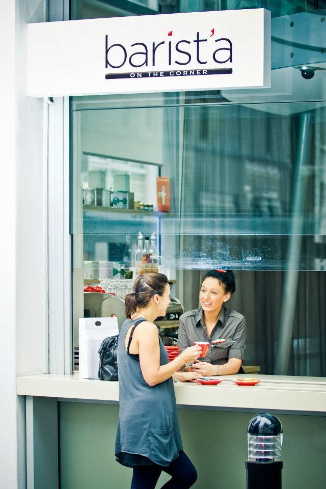 Grab a coffee from Barist'a before you head out on a day of Auckland sightseeing.